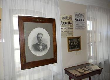 Экспозиция Дома-музея А. П. Чехова