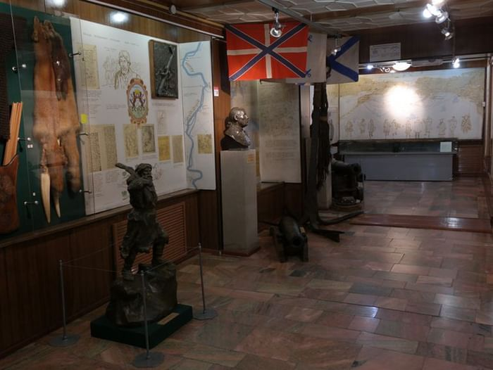 Постоянная экспозиция Камчатского краевого объединенного музея