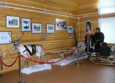 Экспозиция «Традиционная культура тазовских селькупов»