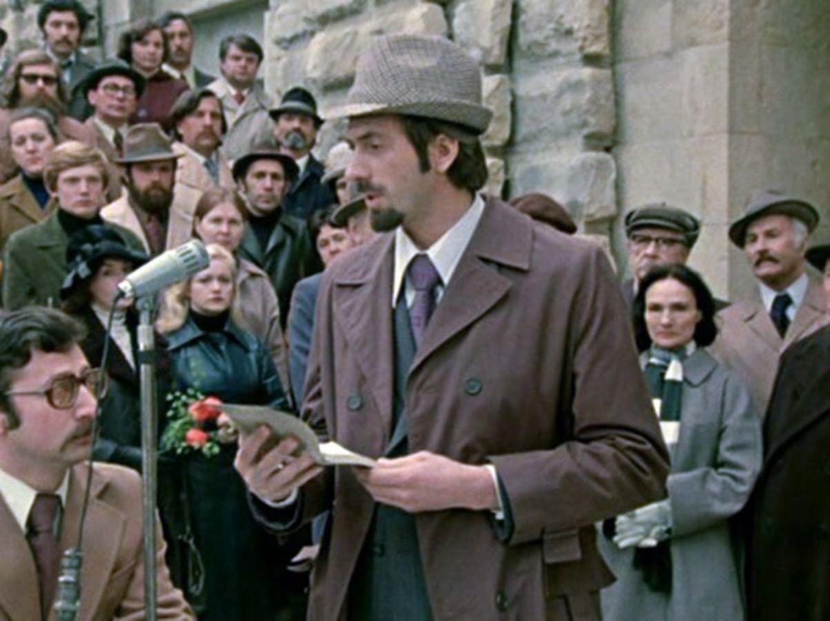 Кадр из фильма Карена Шахназарова «Добряки» (1979)