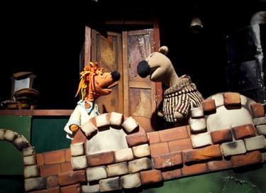 Спектакль «Как Лиса Медведя обманывала, да потом сама попалась»