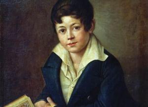 Детские портреты русских писателей