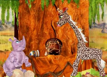 Спектакль «Носорог и Жирафа»