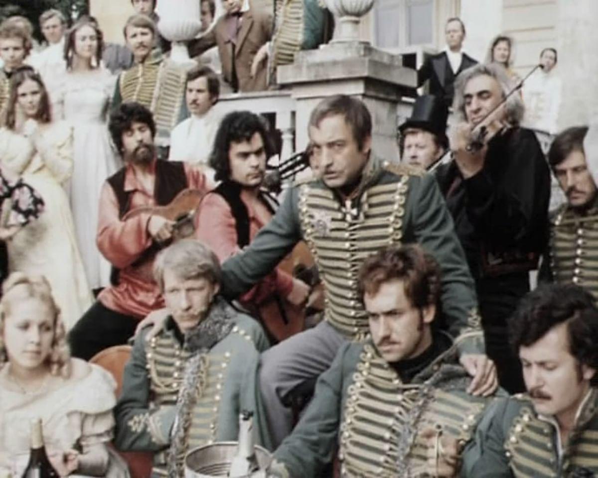 Гусарство русского искусства: Гусары в картинах, стихах и кино. Галерея 4