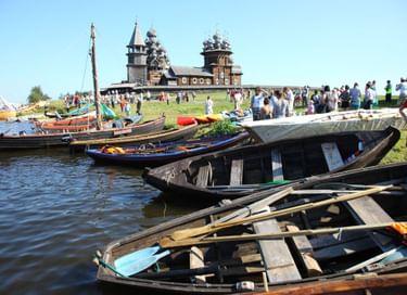 Фестиваль традиционного судостроения и судоходства «Кижская регата»