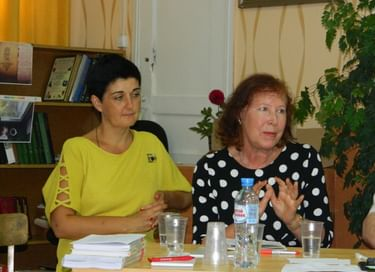 Презентация книги Полины Ребениной