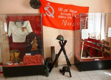 Экспозиция «Зал боевой славы»