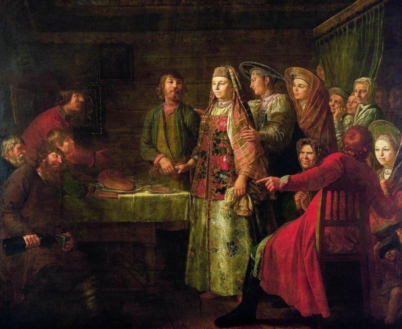 7 секретов традиционной русской свадьбы. Галерея 1