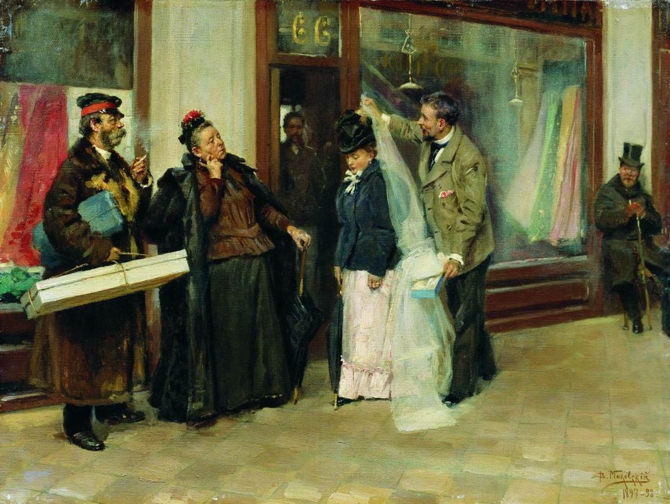 Печальные невесты в русской живописи. Галерея 3