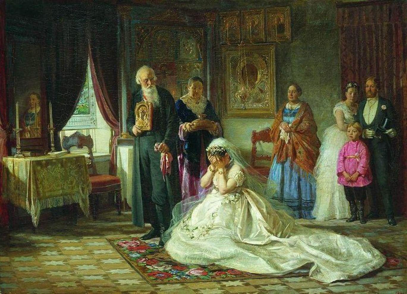 Печальные невесты в русской живописи. Галерея 4