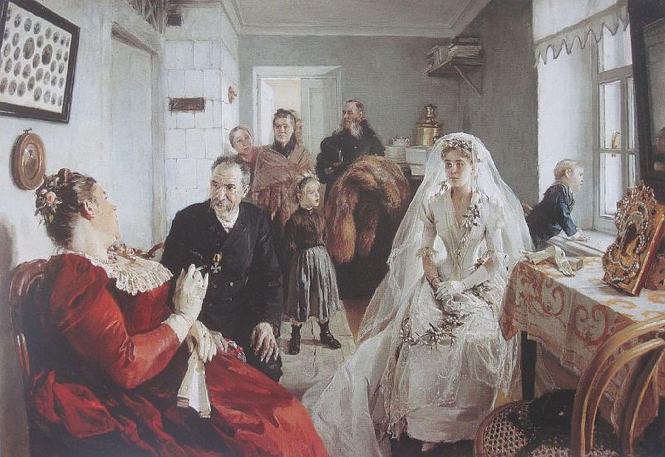 Печальные невесты в русской живописи. Галерея 5