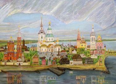 Экспозиция «Осташковские художники ХХ–ХХI вв.»