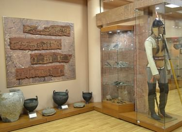 Постоянная экспозиция «Древняя история Хакасии»