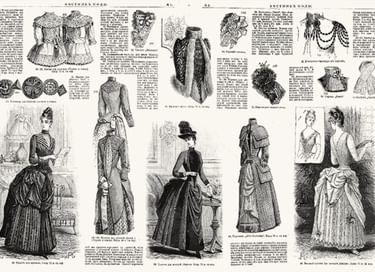 Выставка «Век XIX, парижанки, мода и увлечения»
