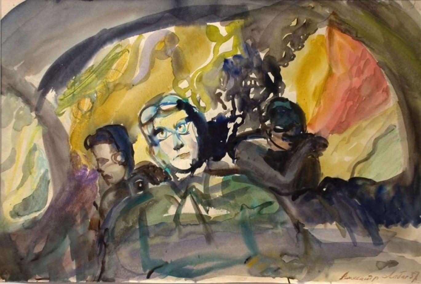 Рисунки Александра Лабаса о Хиросиме покажут в Москве. Галерея 1