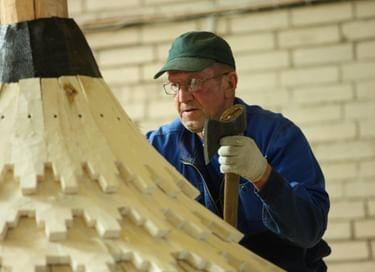 V Международный праздник плотницкого искусства