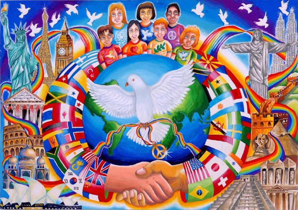 Арм картинки, рисунок за мир во всем мире