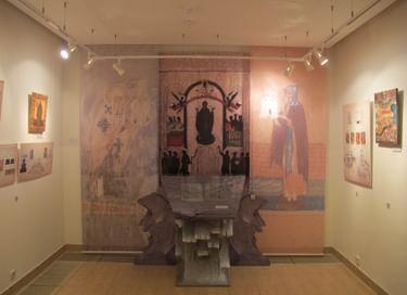 Экспозиция «Культурное наследие Новгородских монастырей»