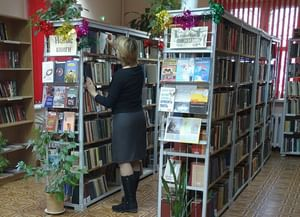 Библиотека-филиал им. А. С. Серафимовича
