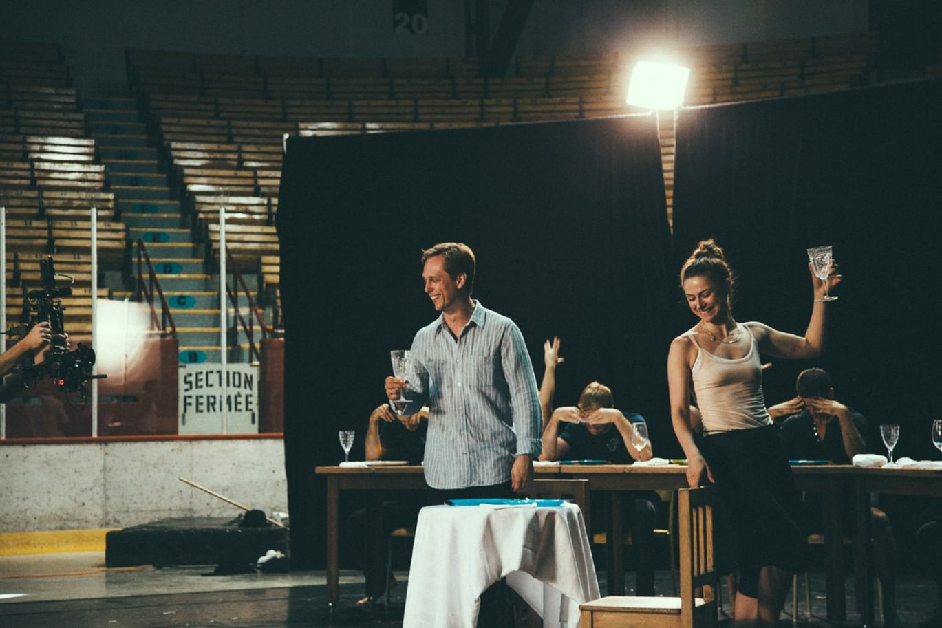 Репетиция мюзикла «Принцесса цирка». Фото: Francisco Cruz