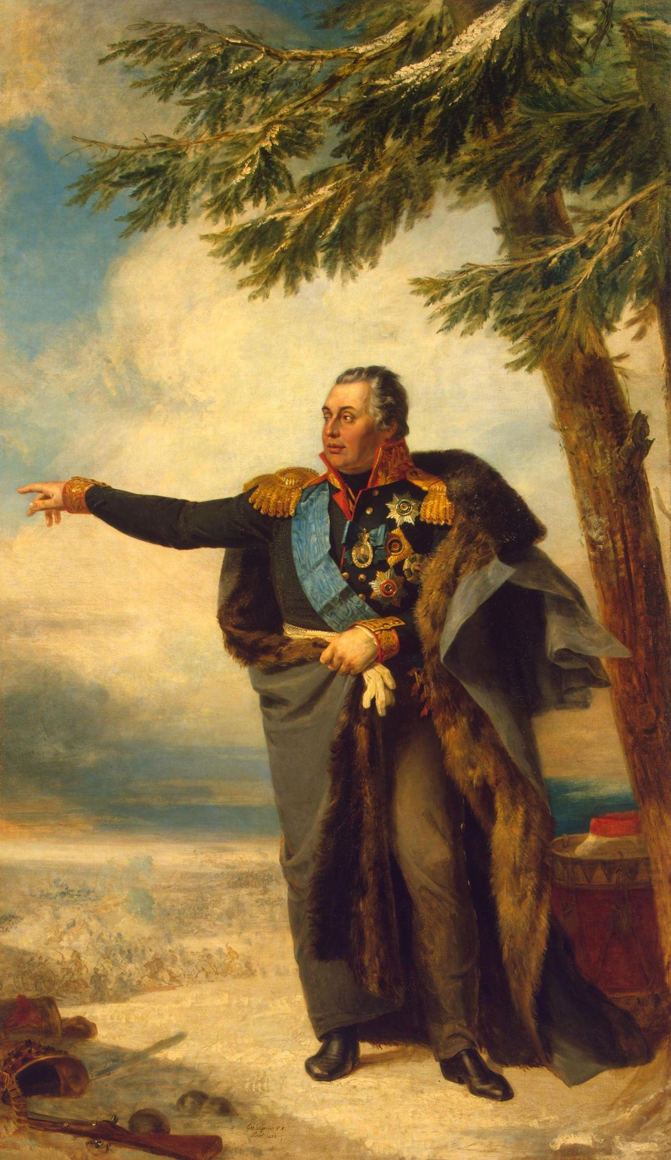 Генералы 1812 года и их милые жены. Галерея 1