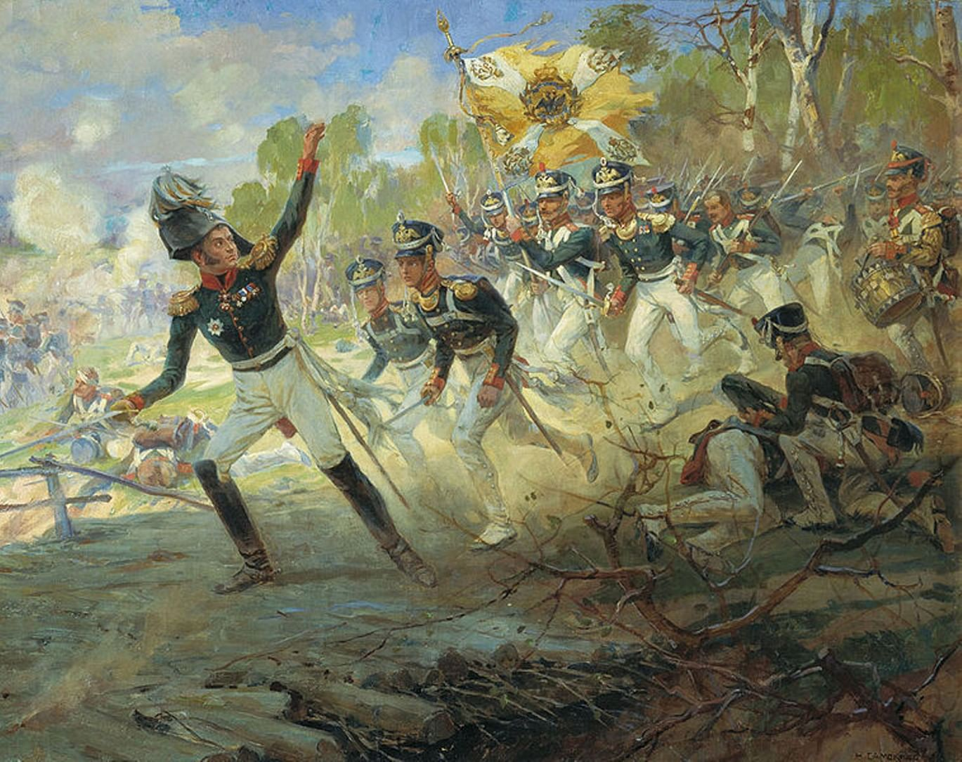 Генералы 1812 года и их милые жены. Галерея 3
