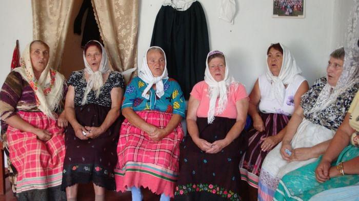 Псалмы в обряде поклонения духоборов хутора Петровка Ростовской области