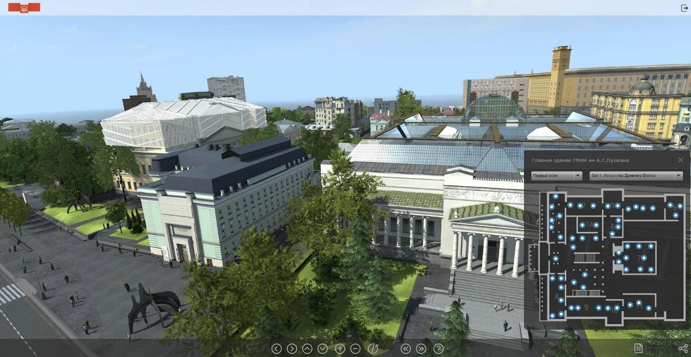 Пушкинский музей выпустил шлем виртуальной реальности. Галерея 1