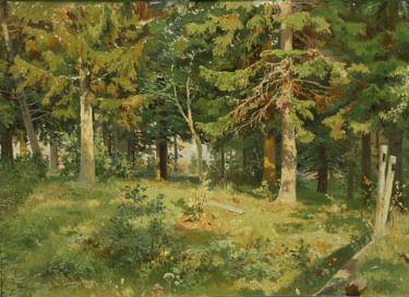 Экспозиция «Русское искусство второй половины XIX в.»