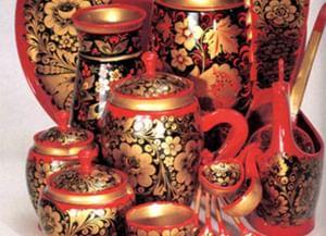 Традиционная технология хохломской росписи по дереву