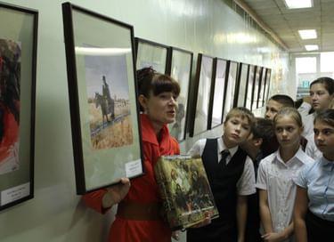 Выставка «Вслед за Пушкиным»