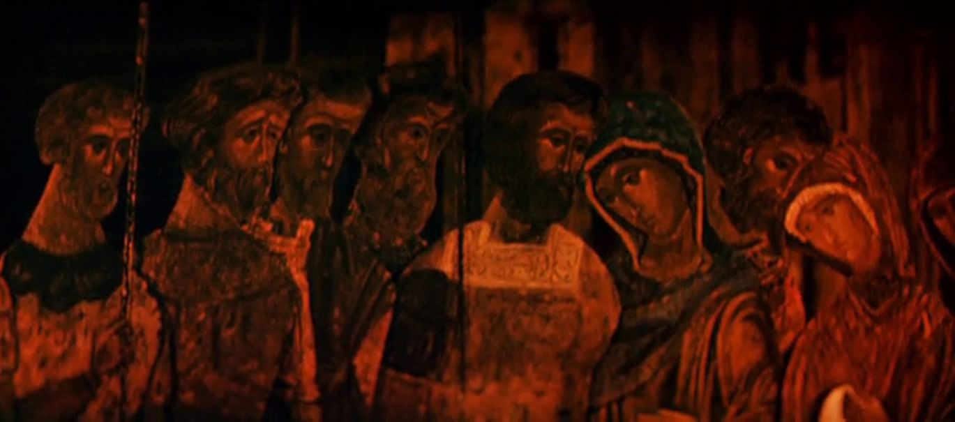Кадр из фильма «Сеча при Керженце»