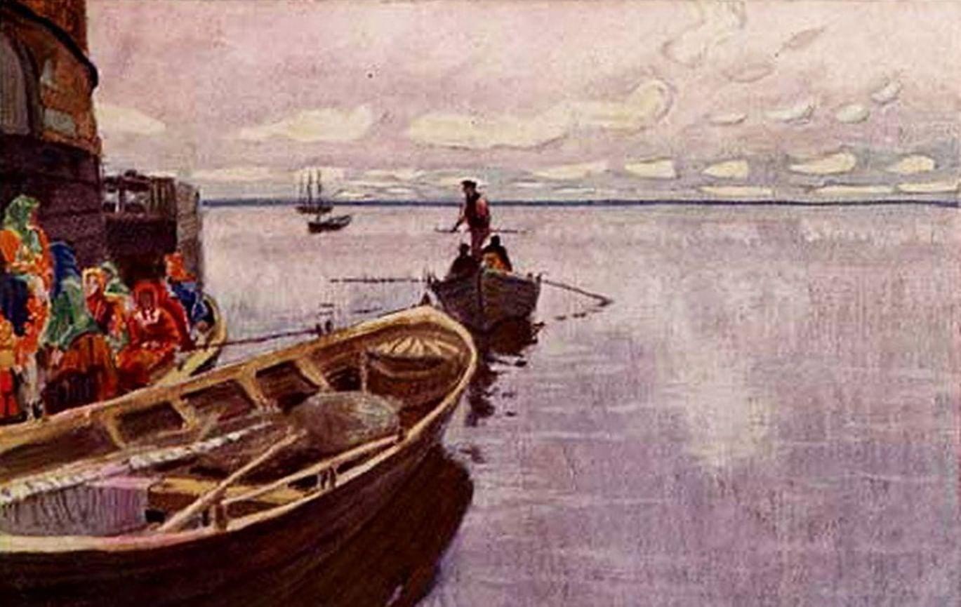 «Батюшко Океан, Студеное море». Традиции поморов в сказках и былинах. Галерея 1