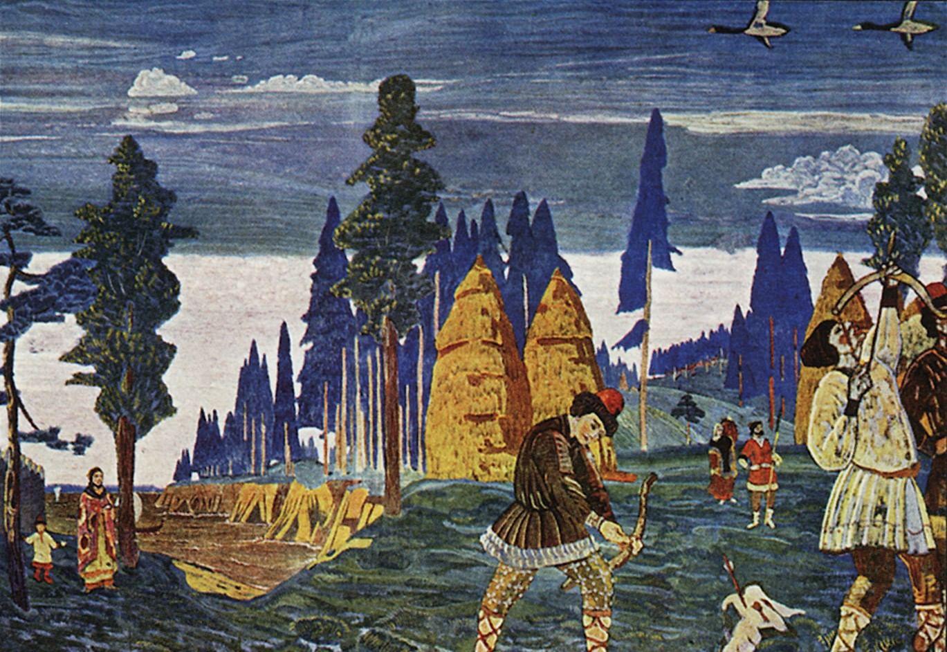 «Батюшко Океан, Студеное море». Традиции поморов в сказках и былинах. Галерея 2