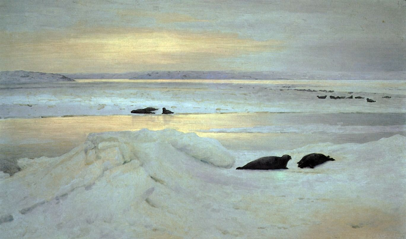 «Батюшко Океан, Студеное море». Традиции поморов в сказках и былинах. Галерея 3
