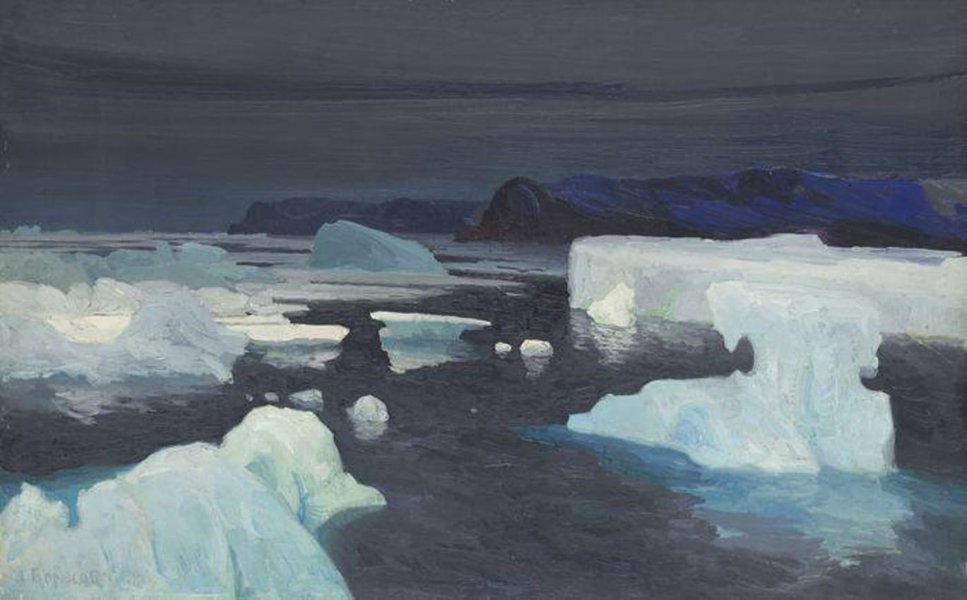 Краски, кисти, Арктика. Художественная экспедиция Александра Борисова. Галерея 1