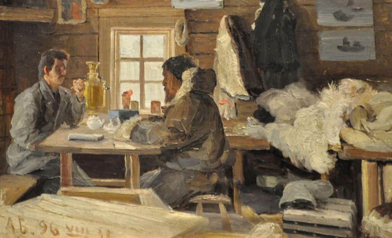 Краски, кисти, Арктика. Художественная экспедиция Александра Борисова. Галерея 2