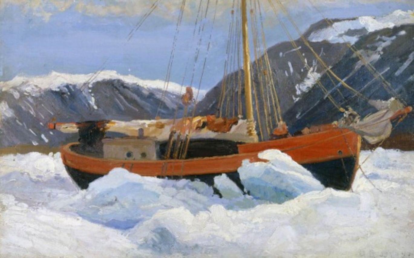 Краски, кисти, Арктика. Художественная экспедиция Александра Борисова. Галерея 4