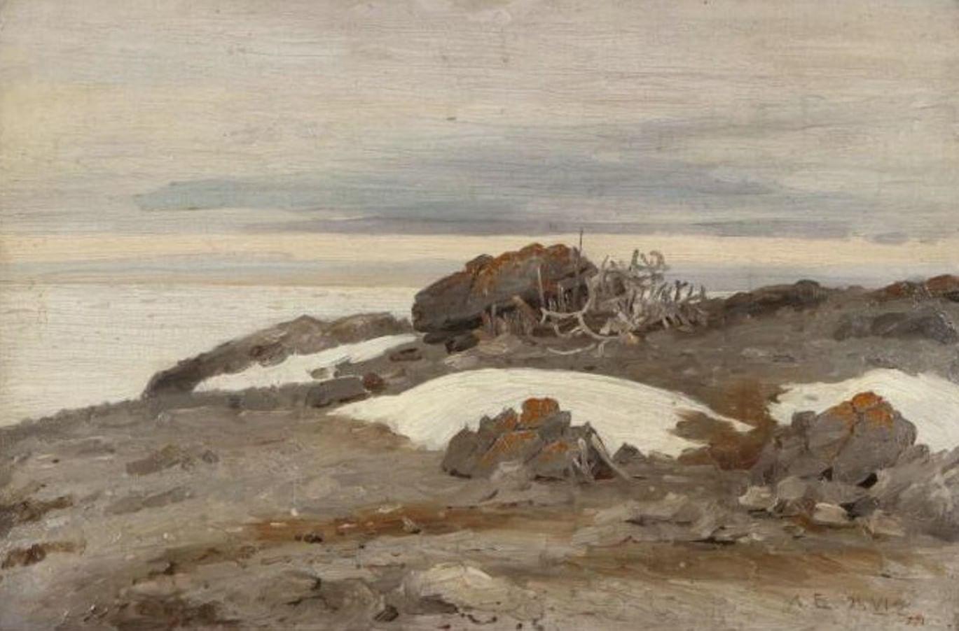 Краски, кисти, Арктика. Художественная экспедиция Александра Борисова. Галерея 3