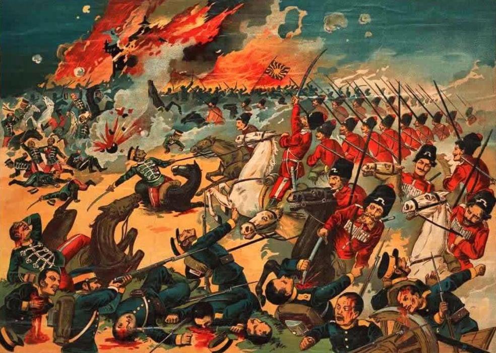 Самой, русско-японская война в картинках