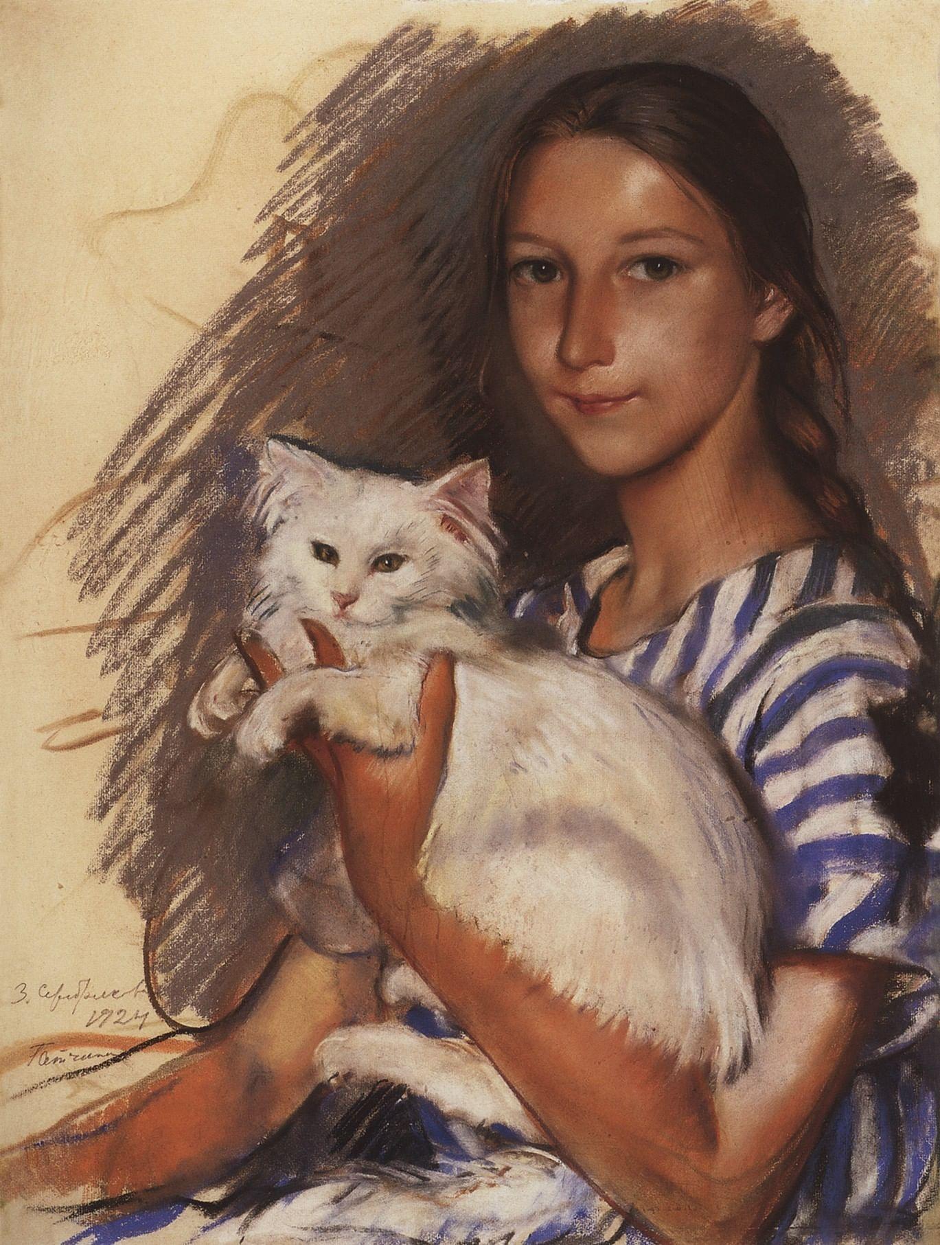 Котики в русской классике. Галерея 3