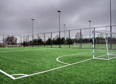 Торжественное открытие универсальной спортивной площадки