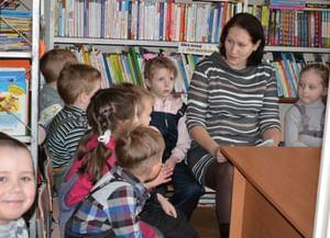 Библиотека-филиал района Новогорский
