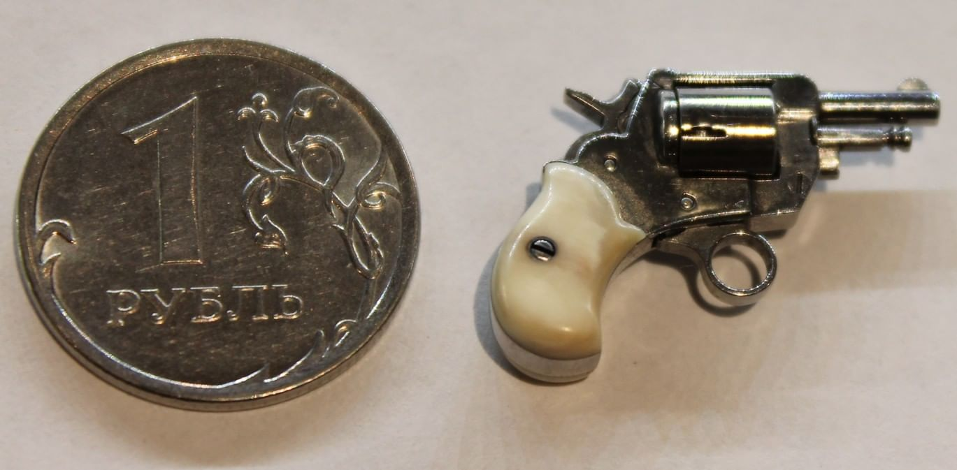 От мини-револьвера до трехствольного автомата. 5 экспонатов Тульского музея оружия. Галерея 5