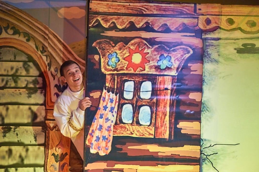 Декорации к сказке колобок картинки