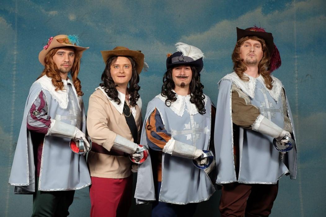 картинки четыре мушкетера хоть раз