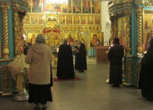 Заупокойная литургия в Дмитровскую субботу по погибшим за Отечество казакам Войска Донского