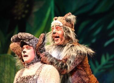 Спектакль «Смелый заяц»