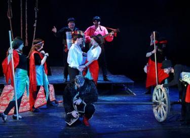 Спектакль «Цыганы»