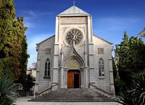 Храм Непорочного зачатия Пресвятой Девы Марии в Ялте (Автономная Республика Крым)